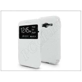 Samsung Galaxy Trend 2 Lite fehér oldalra nyíló flip tok