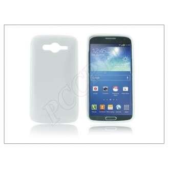 Samsung Galaxy Core fehér szilikon hátlap