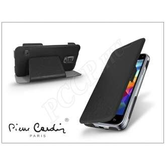 Samsung Galaxy S5 Mini fekete flip tok