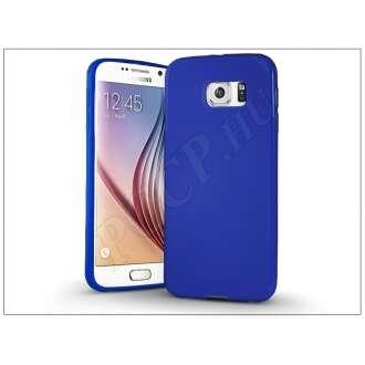 Samsung Galaxy S6 kék szilikon hátlap