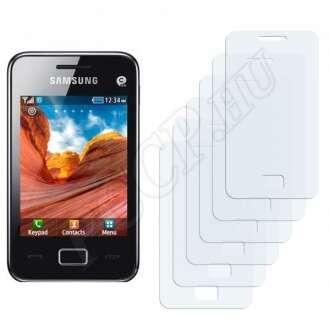 Samsung Star 3 S5229 kijelzővédő fólia