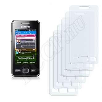 Samsung Star II,2 S5260 kijelzővédő fólia