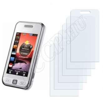Samsung Star S5230 kijelzővédő fólia