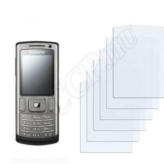 Samsung U800 kijelzővédő fólia