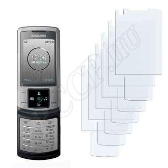 Samsung U900 Soul Display + Touchpad kijelzővédő fólia