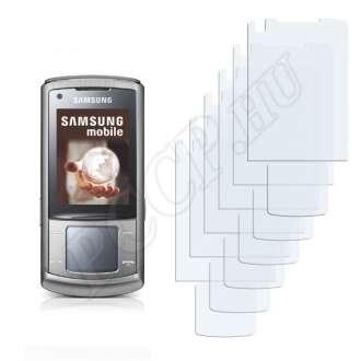 Samsung U900V Display + Touchpad kijelzővédő fólia