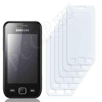 Samsung Wave 525 S5250 kijelzővédő fólia