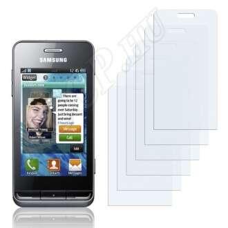 Samsung Wave 723 S7230 kijelzővédő fólia