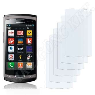 Samsung Wave II kijelzővédő fólia