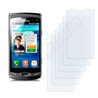 Samsung Wave II,2 S8530 kijelzővédő fólia