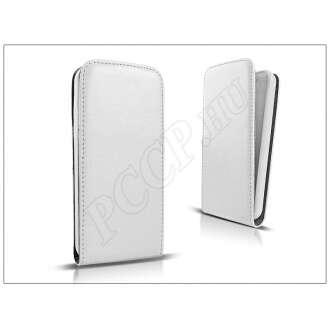 LG L Fino D290 fehér flip bőrtok