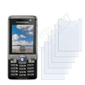 Sony Ericsson C702 kijelzővédő fólia