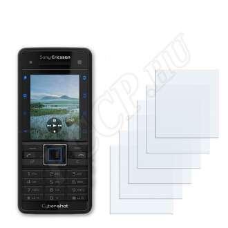Sony Ericsson C902 kijelzővédő fólia