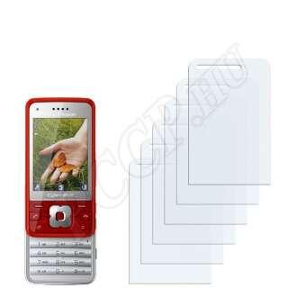 Sony Ericsson C903 kijelzővédő fólia
