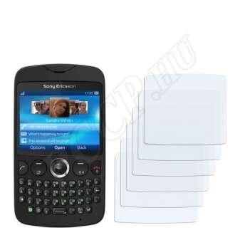 Sony Ericsson CK13i txt kijelzővédő fólia