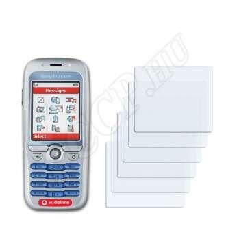 Sony Ericsson F500i kijelzővédő fólia