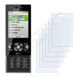 Sony Ericsson G705 kijelzővédő fólia