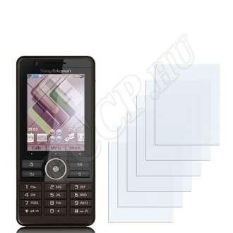 Sony Ericsson G900 kijelzővédő fólia