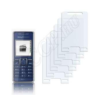 Sony Ericsson K200i kijelzővédő fólia