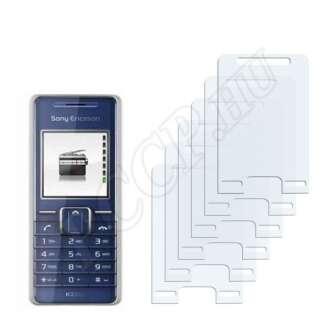 Sony Ericsson K220i kijelzővédő fólia