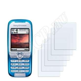 Sony Ericsson K500i kijelzővédő fólia
