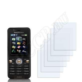 Sony Ericsson K530i kijelzővédő fólia