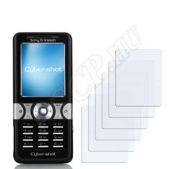 Sony Ericsson K550i kijelzővédő fólia