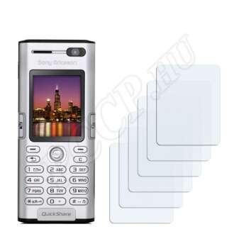 Sony Ericsson K600i kijelzővédő fólia