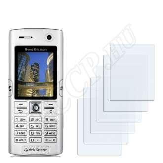 Sony Ericsson K608i kijelzővédő fólia