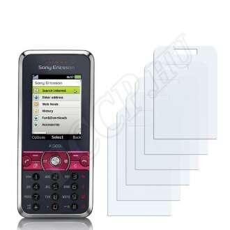 Sony Ericsson K660i kijelzővédő fólia