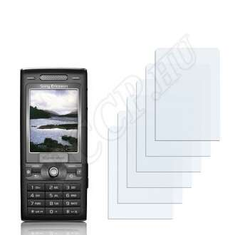 Sony Ericsson K790i kijelzővédő fólia