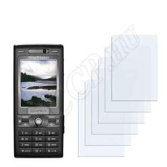 Sony Ericsson K800i kijelzővédő fólia