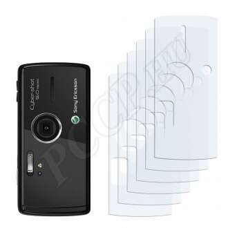 Sony Ericsson K850i (hátlap) kijelzővédő fólia