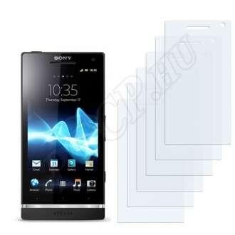 Sony Ericsson Nozomi LT26i kijelzővédő fólia