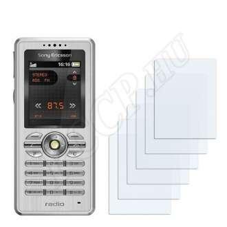 Sony Ericsson R300i kijelzővédő fólia