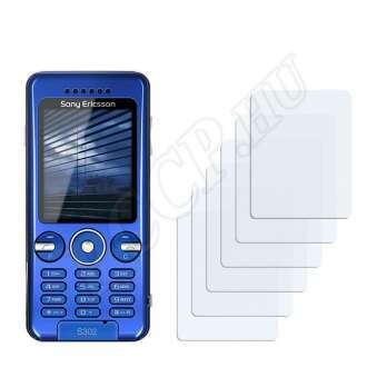 Sony Ericsson S302 kijelzővédő fólia