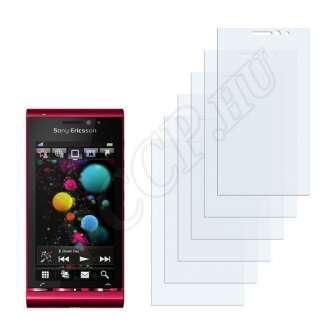 Sony Ericsson Satio kijelzővédő fólia