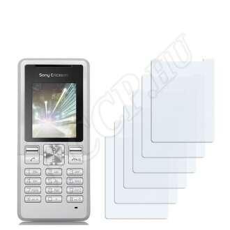 Sony Ericsson T250c kijelzővédő fólia