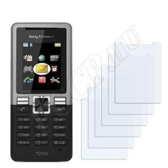 Sony Ericsson T270i kijelzővédő fólia