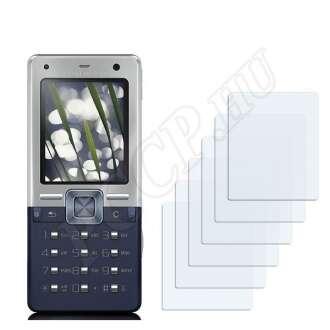 Sony Ericsson T650 kijelzővédő fólia