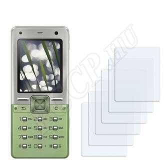 Sony Ericsson T650i kijelzővédő fólia