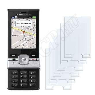 Sony Ericsson T715 kijelzővédő fólia