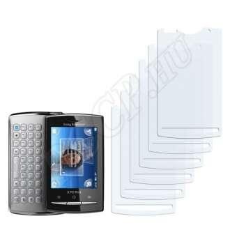 Sony Ericsson U20i kijelzővédő fólia