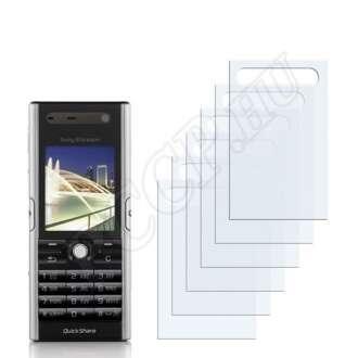 Sony Ericsson V600i kijelzővédő fólia