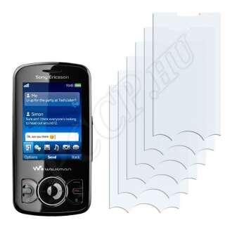 Sony Ericsson W100i Spiro kijelzővédő fólia