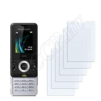 Sony Ericsson W205 kijelzővédő fólia