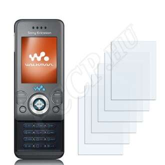 Sony Ericsson W580i kijelzővédő fólia