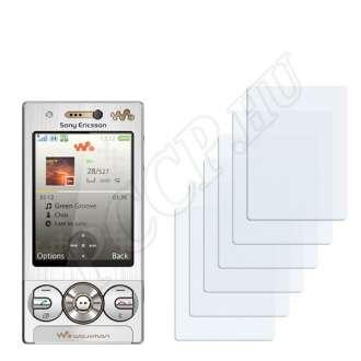 Sony Ericsson W705 kijelzővédő fólia