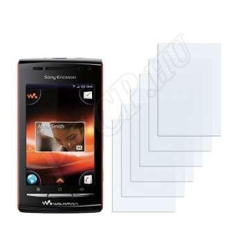 Sony Ericsson W8 kijelzővédő fólia