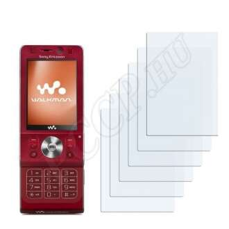 Sony Ericsson W910i kijelzővédő fólia